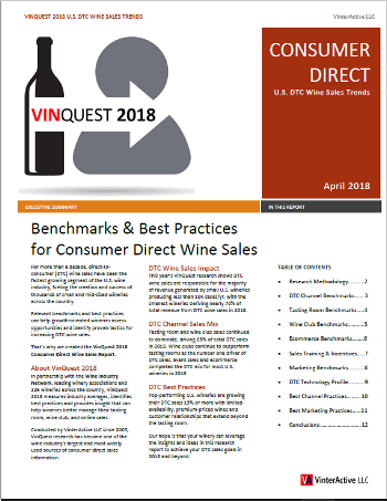 VinQuest 2018 - Research Summary