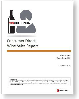 VinQuest 2016 - Consumer Direct Wine Sales Report