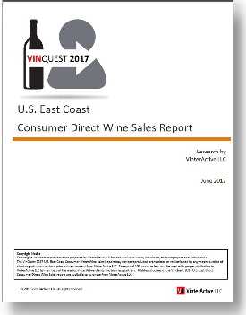 VinQuest 2017 - U.S. East Coast Consumer Direct Wine Sales Report