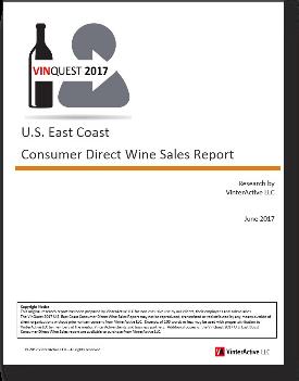 VinQuest 2017 - U.S. East Coast Consumer Direct Wine Sales Report